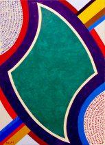 2012 - 08 - Зеленый кристал - 92 x 65 cm - Acryl s t - P1050098