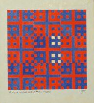 2012 - 11 - Etude No I. К теории хаоса - 45 x 45 cm - Acryl s t - P1050187