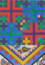 Проект Универсального Равовесия - 2015 г. Акрил 116 x 81 cm