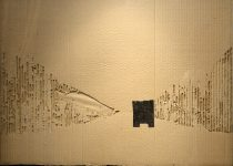 Багров Р. Из серии «Фуры». 51х71 см. Гофрокартон, рубероид