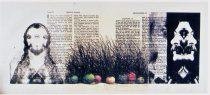 Комар Виталий /Меламид Александр «Яблоки 4» – диптих серии «Откровение»; 84х188; литография с монотипией; 1990 год