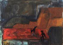 Анна Зинштейн. Красная крыша. 1 000 руб.