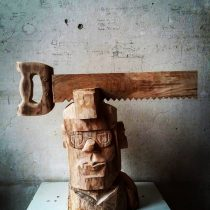 Айдар Ишемгулов. ПЕРСОНЫ И ПЕРСОНАЖИ. Деревянная скульптура
